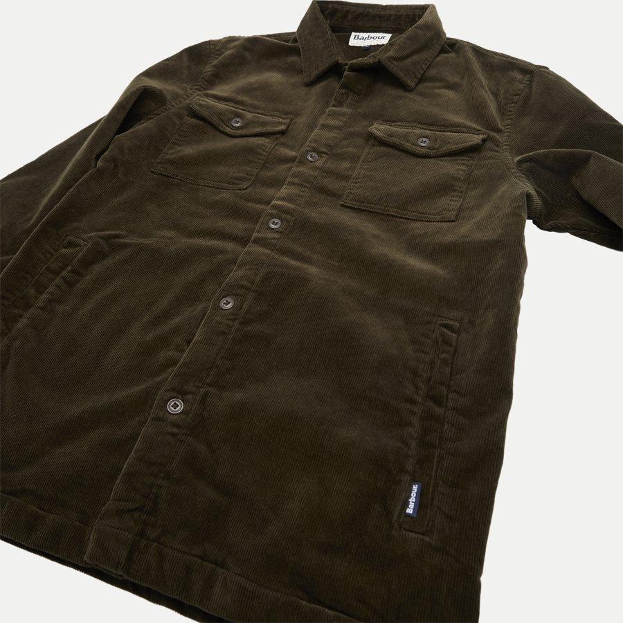 CORD OVERSHIRT - Cord Overshirt - Skjorter - Regular - OLIVEN - 4
