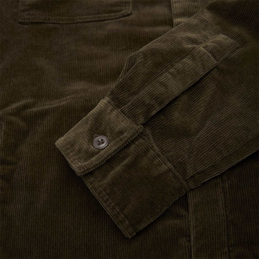 CORD OVERSHIRT - Cord Overshirt - Skjorter - Regular - OLIVEN - 6