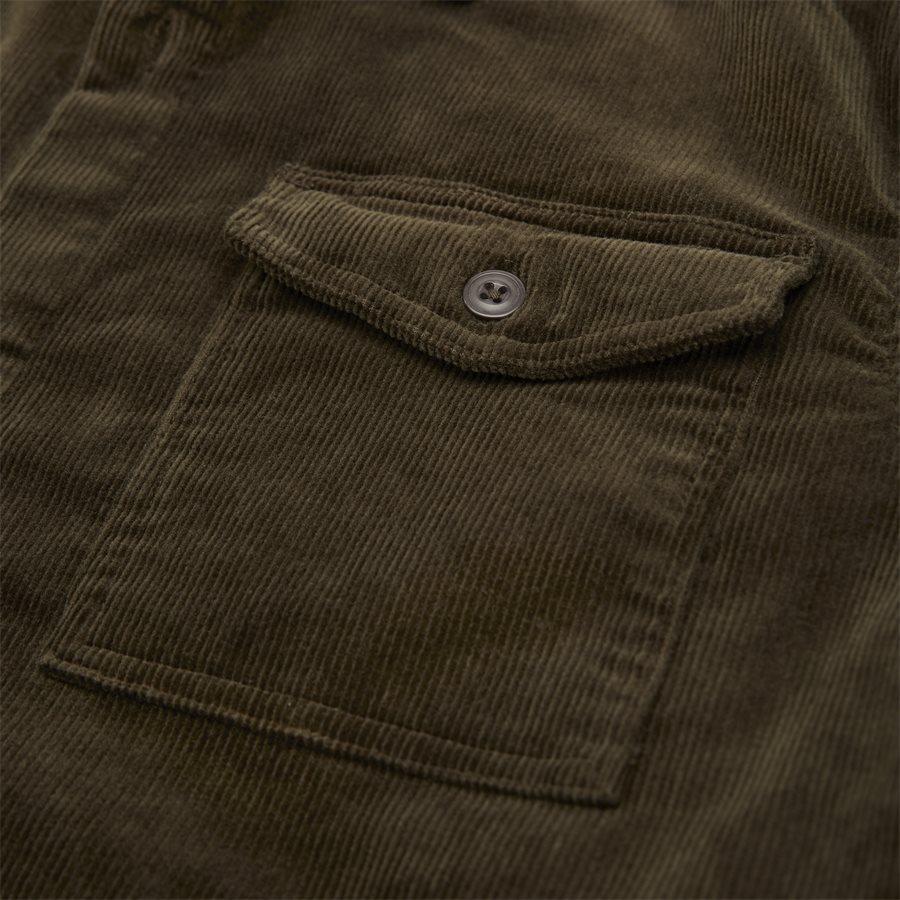 CORD OVERSHIRT - Cord Overshirt - Skjorter - Regular - OLIVEN - 8