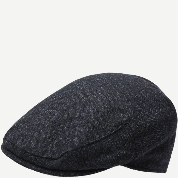 Moons Tweed Cap - Caps - Blå