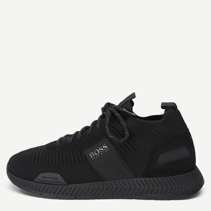 Titanium_Runn_Knst Sneaker - Sko - Sort