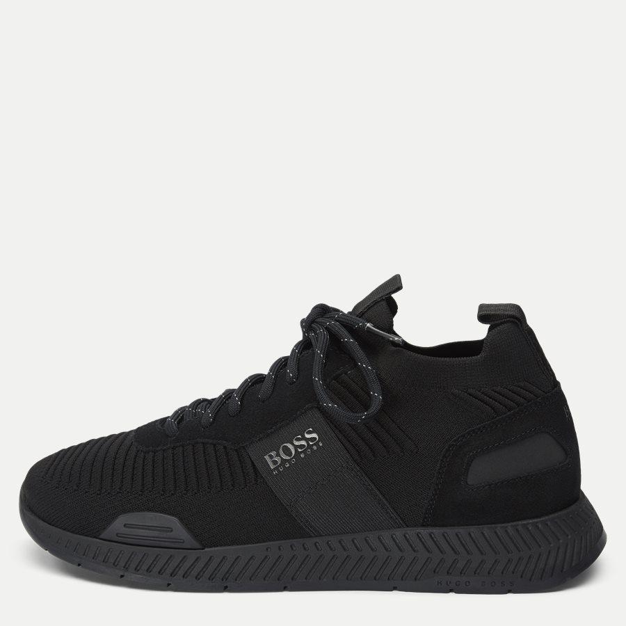 50414734 TITANIUM_RUNN - Titanium_Runn_Knst Sneaker - Sko - SORT - 1
