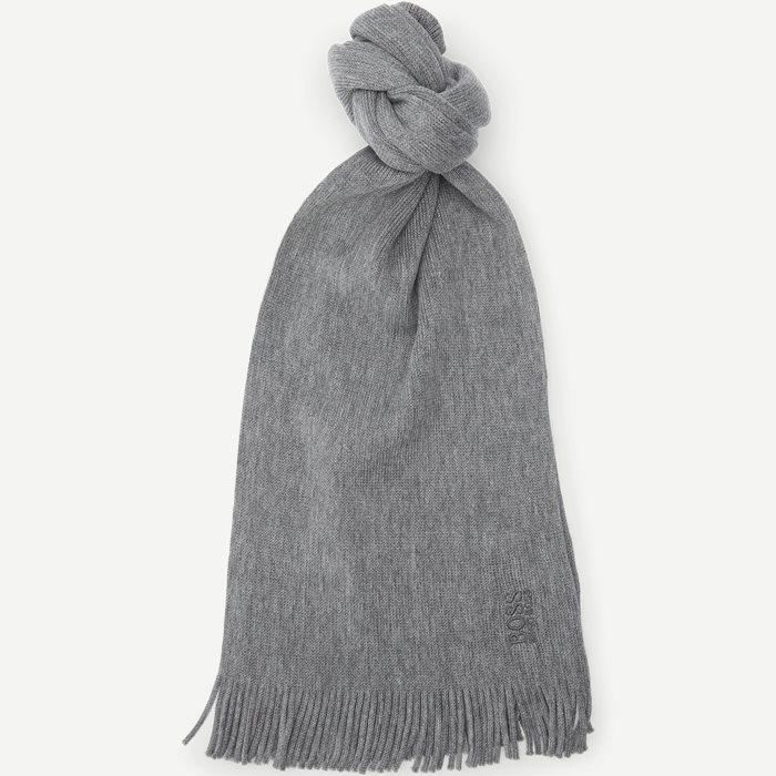 Albas-B Halstørklæde - Tørklæder - Grå