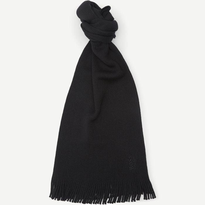 Albas-B Halstørklæde - Tørklæder - Sort
