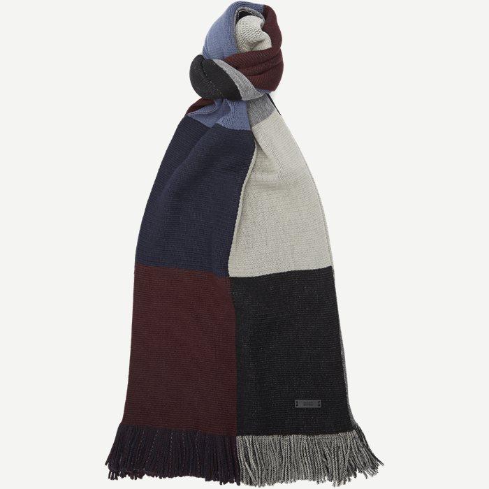 Bico Halstørklæde - Tørklæder - Bordeaux