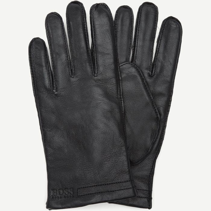 Kranton3 Skindhandsker - Handsker - Sort