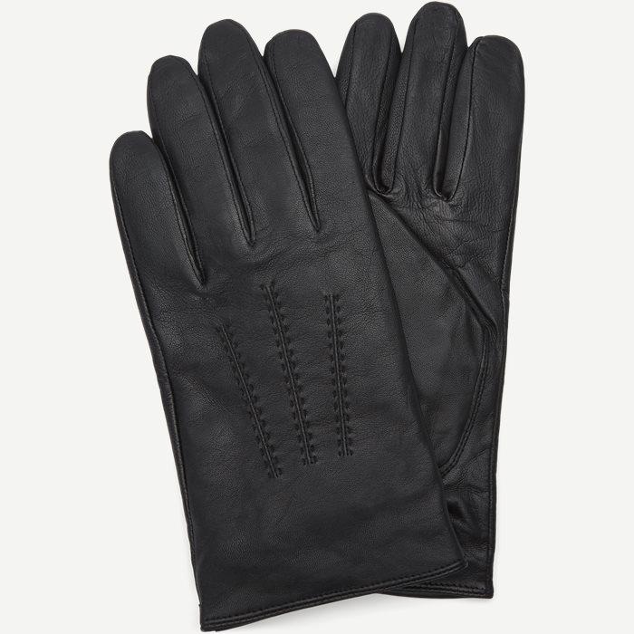 Hainz3 Skindhandsker - Handsker - Sort