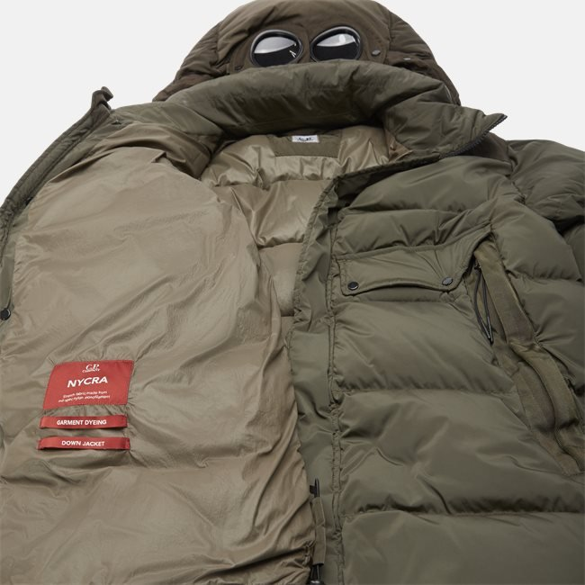 Nycra Goggle Puffer Jacket