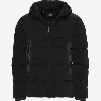 Nycra Goggle Puffer Jacket Regular | Nycra Goggle Puffer Jacket | Sort