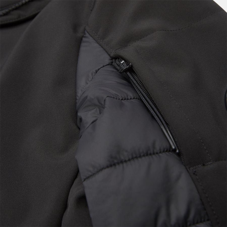 UW020A 005242M - Short Jacket - Jakker - Regular - SORT - 6