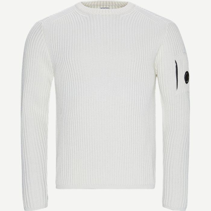 Crew Neck Merino Wool Sweater - Strik - Regular - Sand