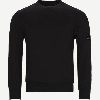 Crew Neck Diagonal Raised Fleece Sweatshirt Regular   Crew Neck Diagonal Raised Fleece Sweatshirt   Sort