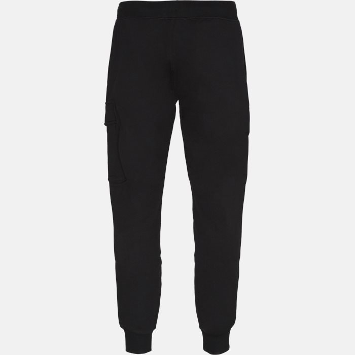 Trousers - Regular slim fit - Black