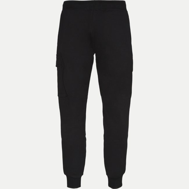 Diagonal Raised Fleece Lens Sweatpants