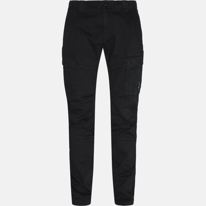 Trousers - Slim - Black