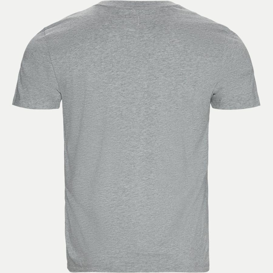 TS099A 005100W - Short Sleeve Jersey T-shirt - T-shirts - Regular - GRÅ - 2