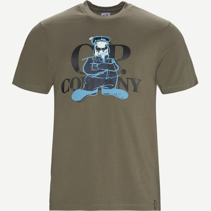 Short Sleeve Jersey T-shirt - T-shirts - Regular - Army