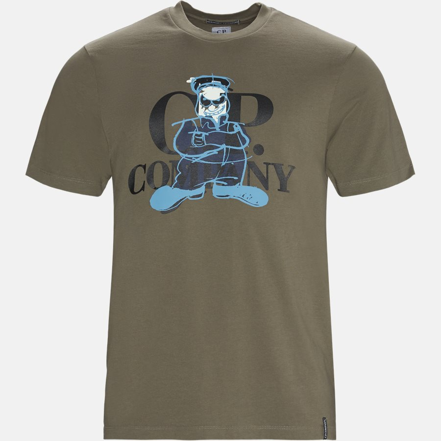 TS282A 005318W - Short Sleeve Jersey T-shirt - T-shirts - Regular - OLIVEN - 1