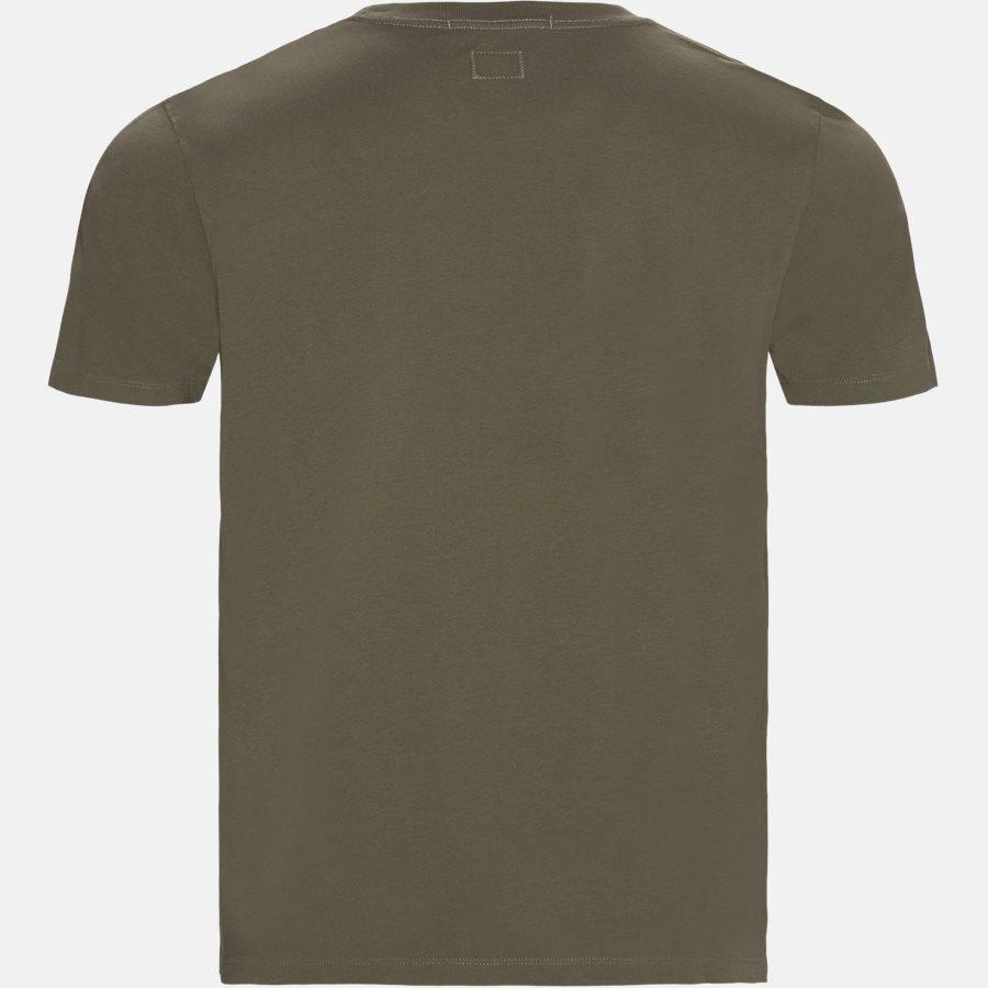 TS282A 005318W - Short Sleeve Jersey T-shirt - T-shirts - Regular - OLIVEN - 3