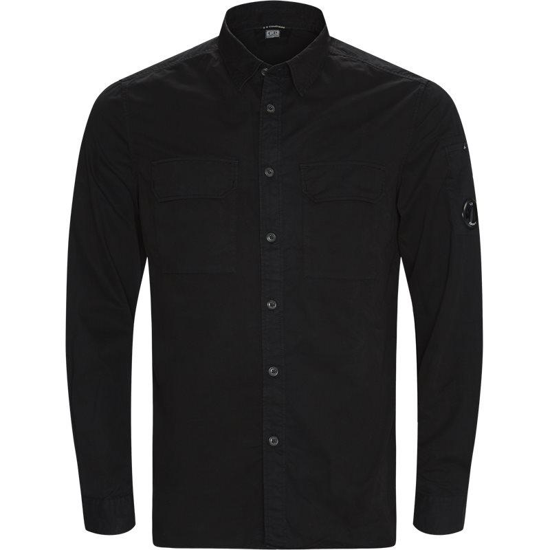 c.p. company – C.p. company regular fit sh228a 002824g skjorter sort på axel.dk