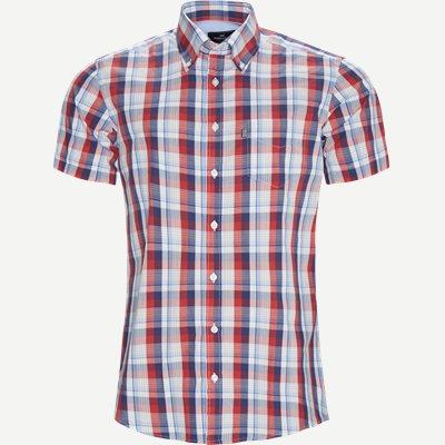 Ternet Kortærmet Skjorte Regular   Ternet Kortærmet Skjorte   Blå