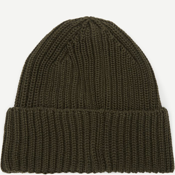 Knit Cap Hue - Caps - Army