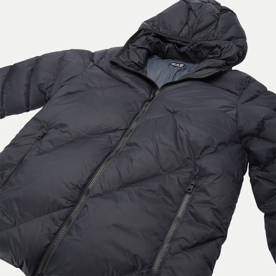 PNR4Z 6GPB53 - Down Jacket - Jakker - Regular - SORT - 6