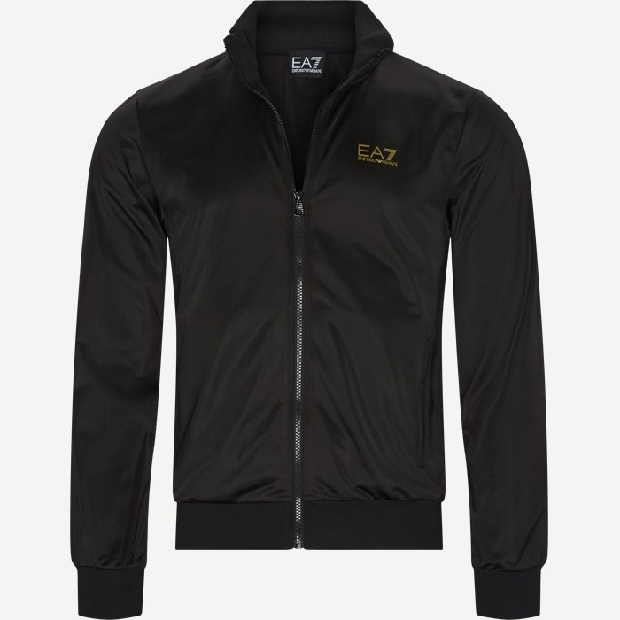 Track Jacket - Sweatshirts - Regular - Sort