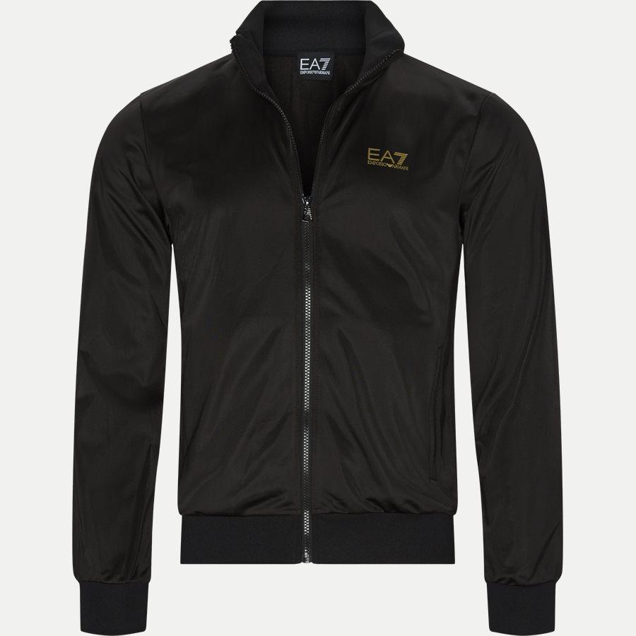PJ08Z 6GPV71 VR. 43 - Track Jacket - Sweatshirts - Regular - SORT/GULD - 1