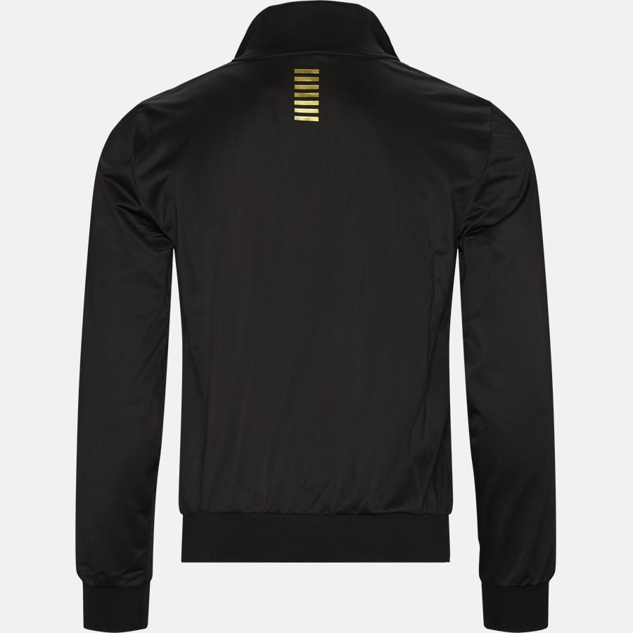 PJ08Z 6GPV71 VR. 43 - Track Jacket - Sweatshirts - Regular - SORT/GULD - 2