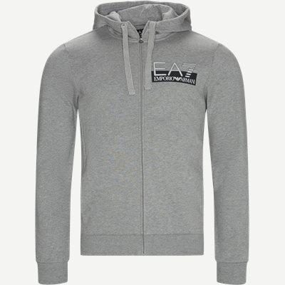 Logo Zip Sweatshirt Regular | Logo Zip Sweatshirt | Grå