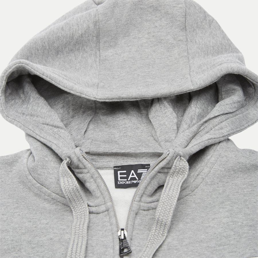 PJ07Z 6GPV57 VR. 43 - Logo Zip Sweatshirt - Sweatshirts - Regular - GRÅ - 3