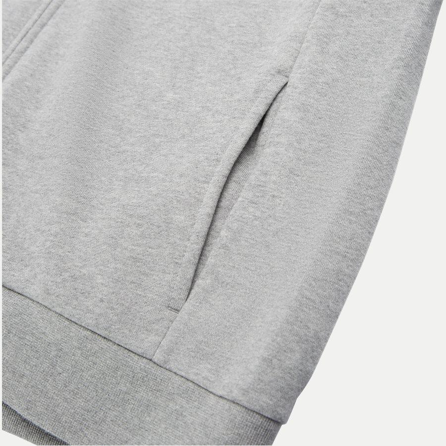 PJ07Z 6GPV57 VR. 43 - Logo Zip Sweatshirt - Sweatshirts - Regular - GRÅ - 4