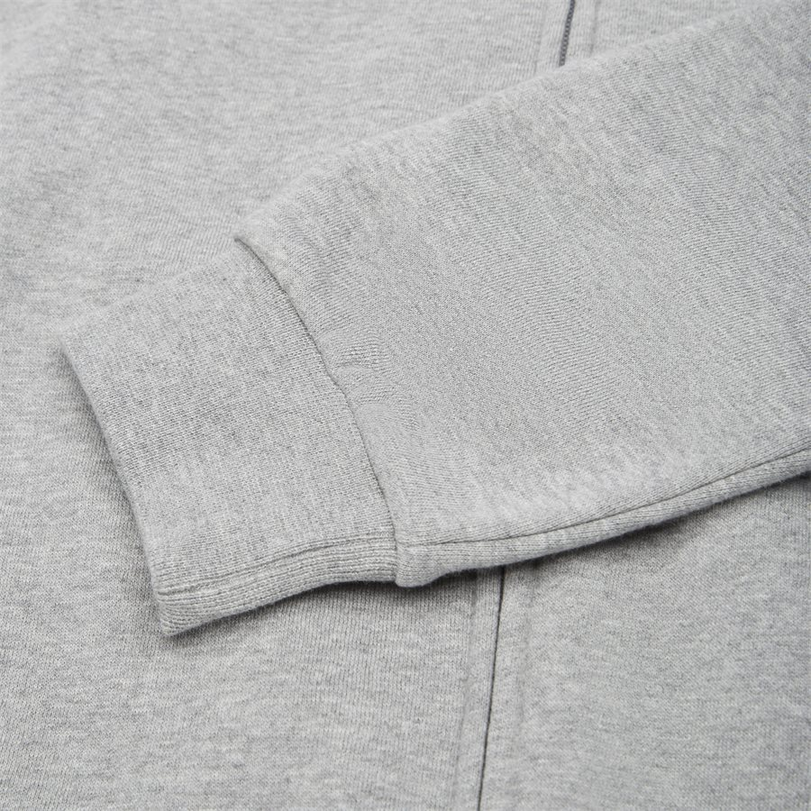 PJ07Z 6GPV57 VR. 43 - Logo Zip Sweatshirt - Sweatshirts - Regular - GRÅ - 6
