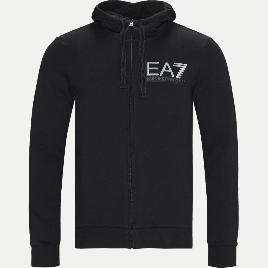PJ07Z 6GPV57 VR. 43 - Logo Zip Sweatshirt - Sweatshirts - Regular - SORT - 1