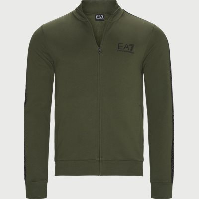 Logoband Zip Sweatshirt Regular | Logoband Zip Sweatshirt | Army