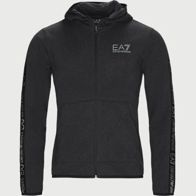 Zip Sweatshirt Regular | Zip Sweatshirt | Grå