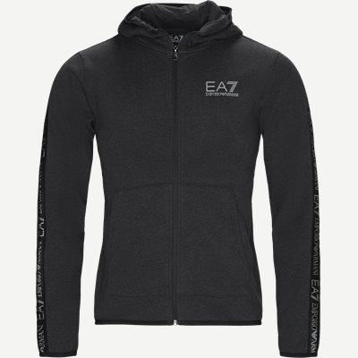 Zip Sweatshirt Regular | Zip Sweatshirt | Grå