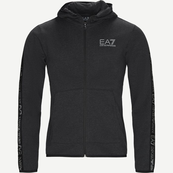Zip Sweatshirt - Sweatshirts - Regular - Grå
