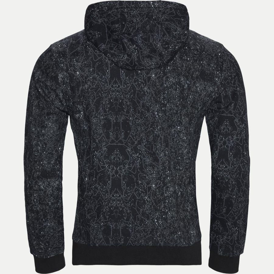 PJF6Z 6GPM13 - Logo Print Hoodie - Sweatshirts - Regular - SORT - 2