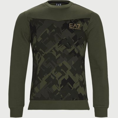 Crewneck Sweatshirt Regular | Crewneck Sweatshirt | Army