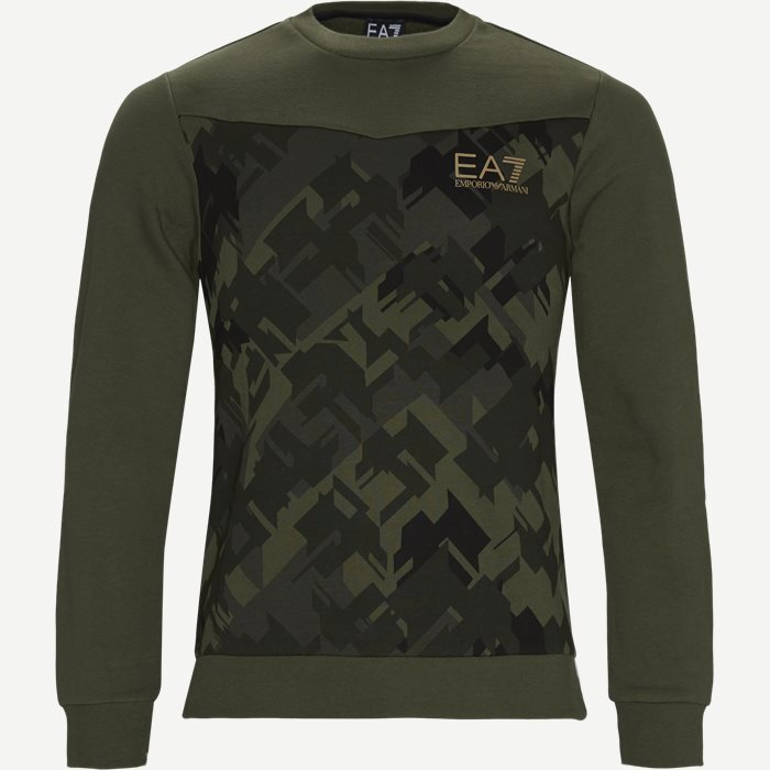 Crewneck Sweatshirt - Sweatshirts - Regular - Army