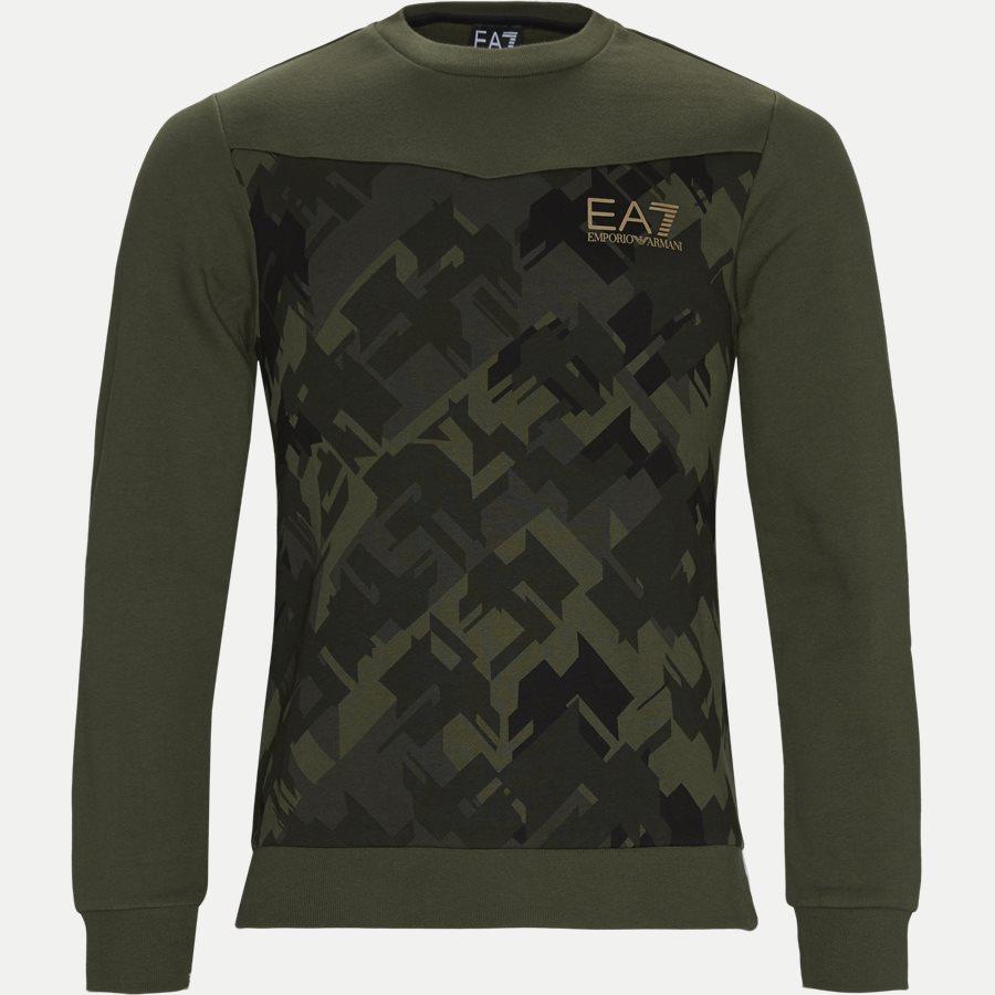 PJ07Z 6GPM65 - Crewneck Sweatshirt - Sweatshirts - Regular - ARMY - 1