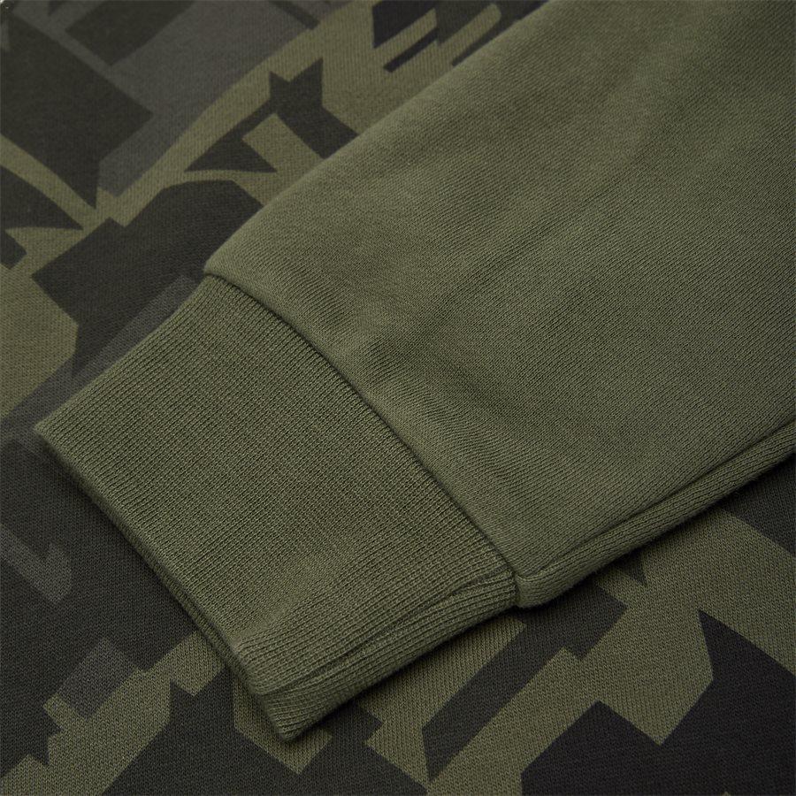 PJ07Z 6GPM65 - Crewneck Sweatshirt - Sweatshirts - Regular - ARMY - 4