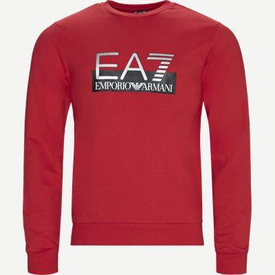 Regular | Sweatshirts | Röd
