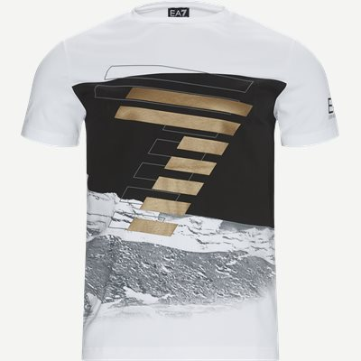 Logo Print T-shirt Regular | Logo Print T-shirt | Hvid