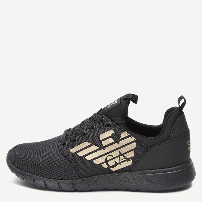 X8X007 Sneaker - Sko - Sort