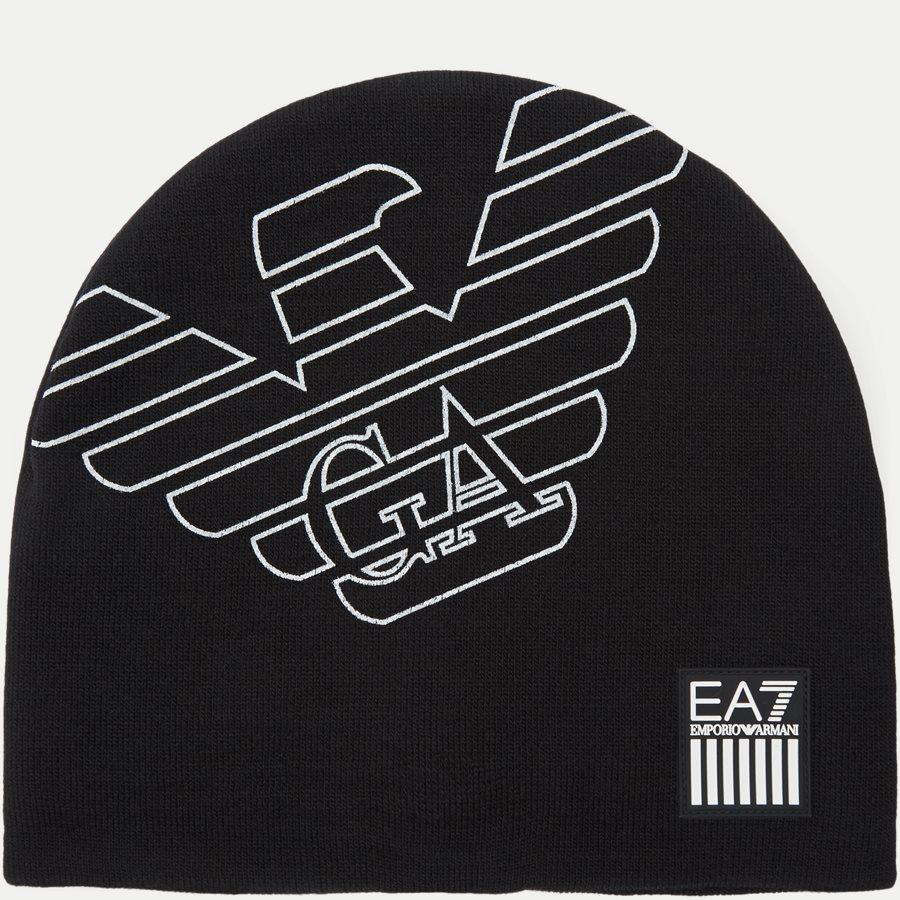 8A302 275803 - Train Eagle M Beanie Hat - Caps - SORT - 1