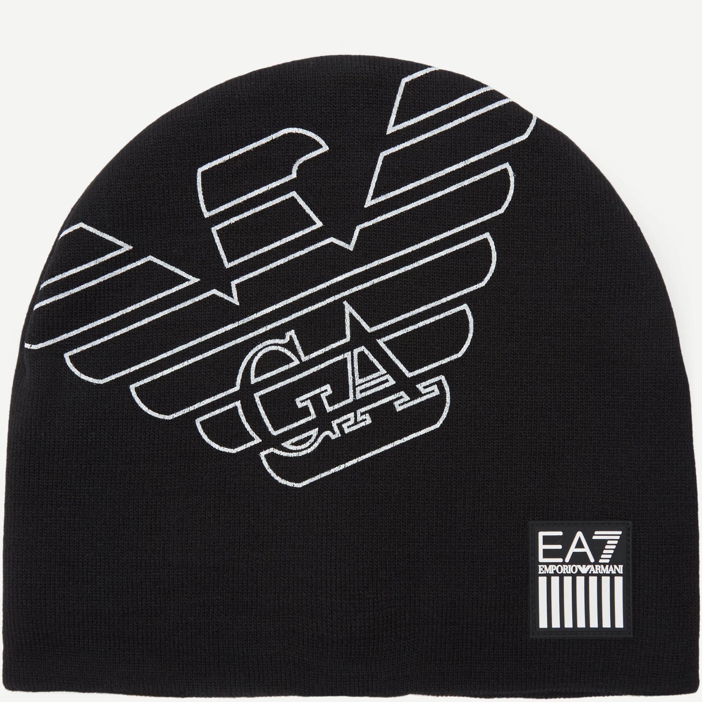 Train Eagle M Beanie Hat - Caps - Sort