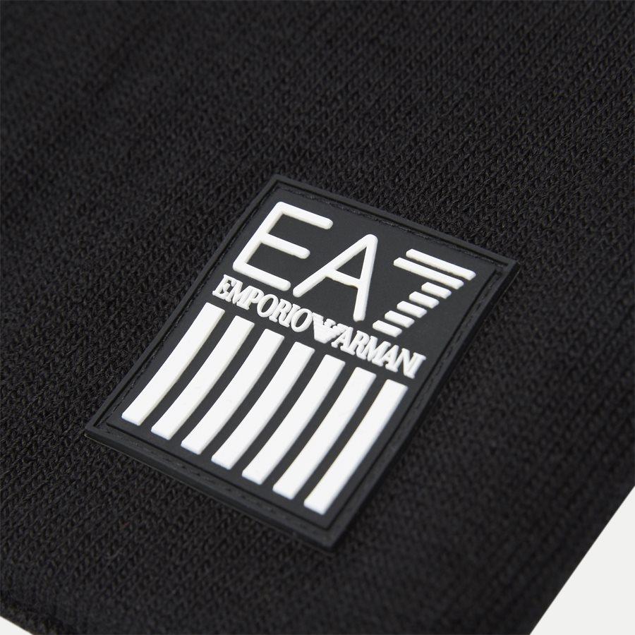 8A302 275803 - Train Eagle M Beanie Hat - Caps - SORT - 4